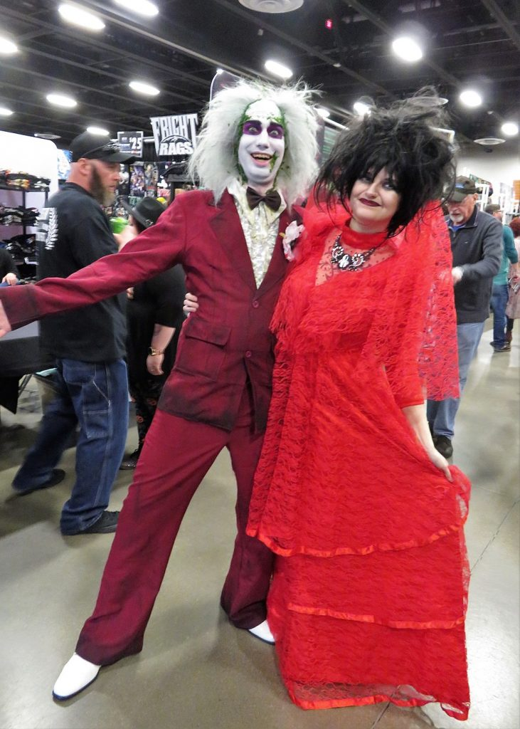 Beetlejuice wigs and costumes